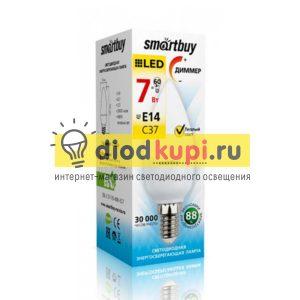 Dimmer-Lampa-Smartbuy-C37-07W-3000-E14