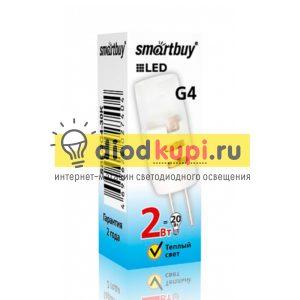Lampa-Smartbuy-G4-2W-3000-G4-12V