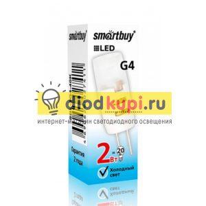 Lampa-Smartbuy-G4-2W-4000-G4-12V
