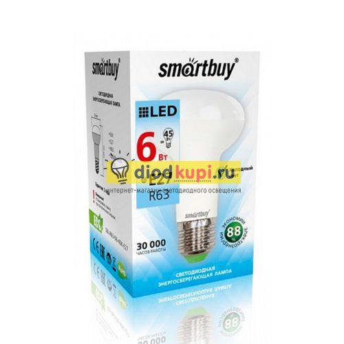Светодиодная (LED) Лампа Smartbuy-R63-06W/4000/E27