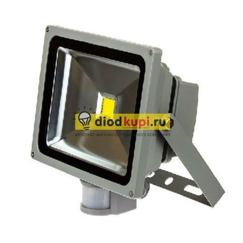 Светодиодный прожектор с датчиком движения 10Вт ASD СДО-2Д