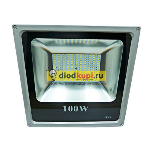 Светодиодный прожектор 100Вт ЭМ-Slim