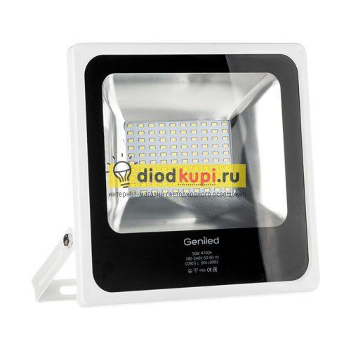 Светодиодный прожектор 50Вт Geniled-СДП