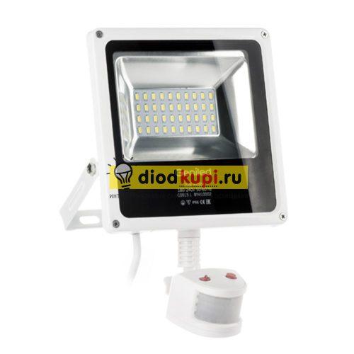 Светодиодный прожектор с датчиком движения 20Вт Geniled СДП-Smart