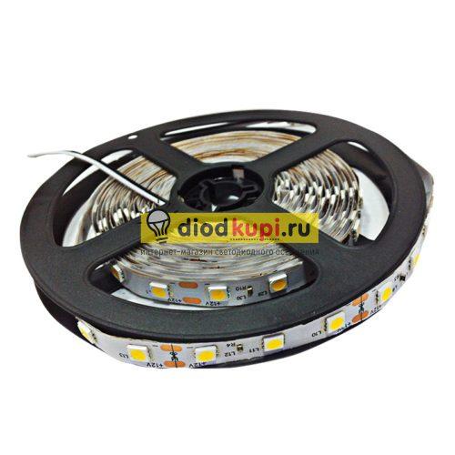 Светодиодная лента (интерьерная) SmartBuy SMD5050 60д/м 14.4Вт/м 3000K (белый теплый) IP33
