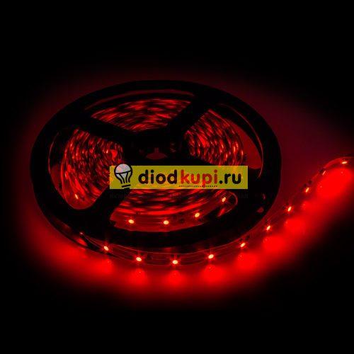 Светодиодная лента (интерьерная) LuxLight SMD3528 60д/м 4.8Вт/м Красный цвет IP33