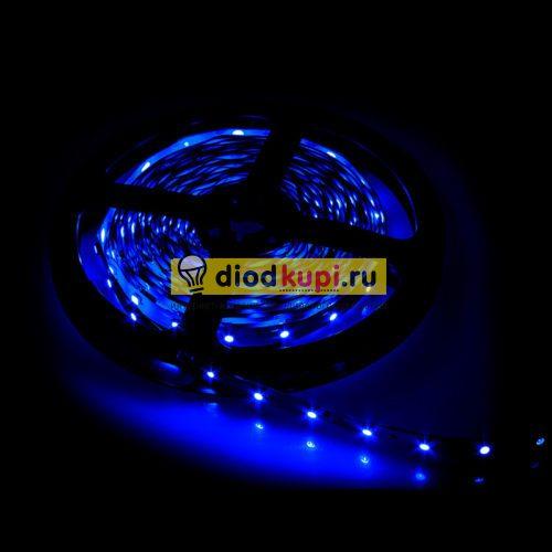 Светодиодная лента (интерьерная) LuxLight SMD3528 60д/м 4.8Вт/м Синий цвет IP33