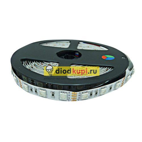 Светодиодная лента (интерьерная) LuxLight SMD5050 60д/м 14.4Вт/м RGB многоцветная IP33