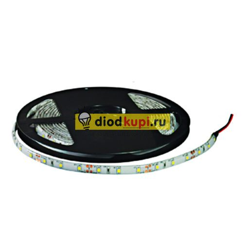 Светодиодная лента (влагозащищенная) LuxLight SMD3528 60д/м 4.8Вт/м 6000K (белый холодный) IP65