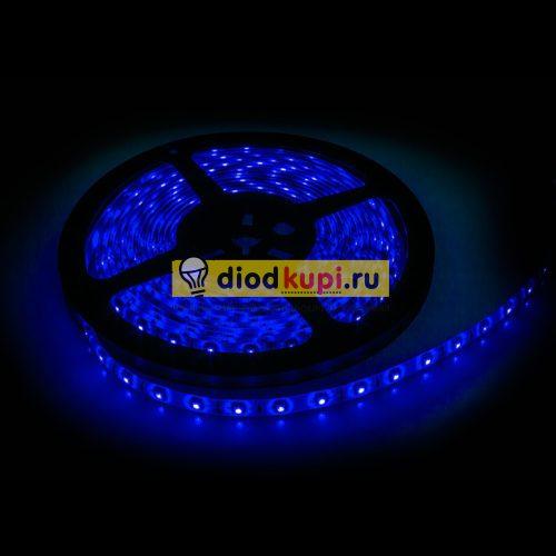 Светодиодная лента (влагозащищенная) LuxLight SMD3528 60д/м 4.8Вт/м Синий цвет IP65