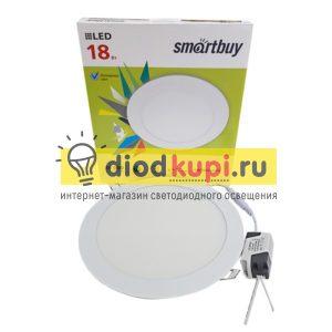 svetodiodnaya-kruglaya-DL-Smartbuy-18Vt-5000K
